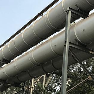 气柜工程煤气管道