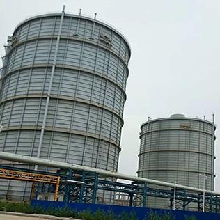 干式稀油密封煤气柜